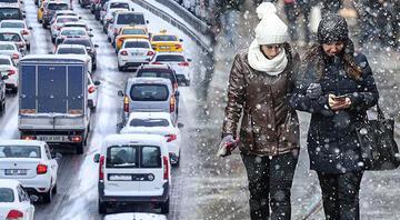 İstanbulda kar yağışı ne zaman sona erecek İşte Meteorolojinin son hava durumu raporu...