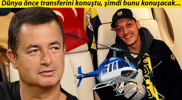 Görülmemiş plan Mesut Özil ve Acun Ilıcalı...