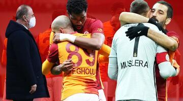 Maça damga vuran olay Fernando Muslera ve Feghouli...