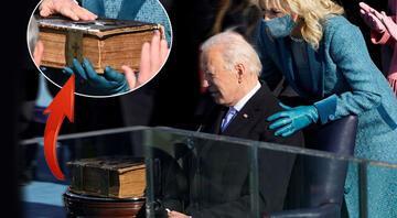 Joe Bidenın el bastığı İncille ilgili flaş detay