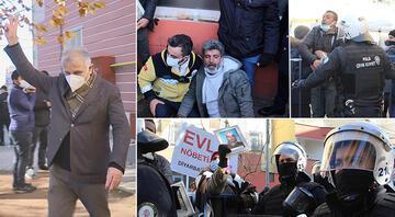 HDP'li vekilden tepki çeken hareket Ortalık bir anda karıştı