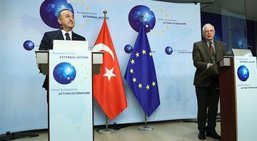 Dışişleri Bakanı Mevlüt Çavuşoğlu Brükselde