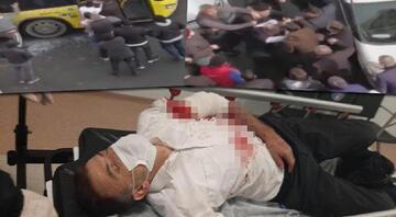 İstanbulda İETT şoförüne saldırı Ortalık karıştı