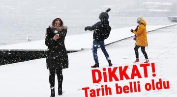 Dikkat İstanbul'a çarşamba ve perşembe kar yağabilir