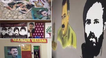 İçişleri Bakanı Soylu paylaştı HDP binasında skandal görüntüler…