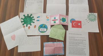 Prof. Dr. Uğur Şahin ve eşi Dr. Özlem Türeci'ye öğrenci mektubu