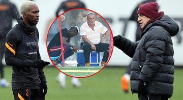 Galatasarayın yeni transferi Henry Onyekuru ilk idmanına çıktı Fatih Terim...