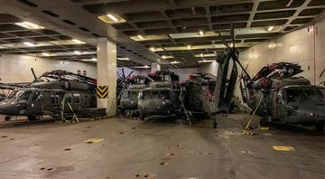 Yunanistandan bir tahrik daha... ABD helikopterleri böyle görüntülendi