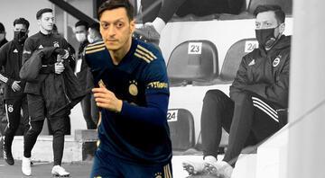Mesut Özil heyecandan şaşırdı Tam maç başlarken...
