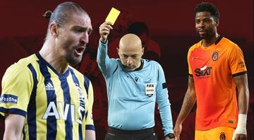 Fenerbahçe-Galatasaray cephesinden Cüneyt Çakıra tepki Caner Erkinin sözleri ekrandan duyuldu