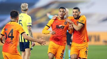 Fenerbahçe 0-1 Galatasaray (Maçın özeti)