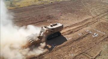 Milli Savunma Bakanlığı duyurdu Mekanik Mayın Temizleme Teçhizatı tüm testleri geçti