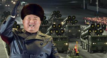 Dünyanın en güçlü silahını tanıtmıştı; Kim Jong düşmanlarına gözdağı verdi