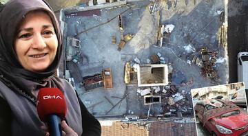 Yaşadığı şaşkınlığı böyle ifade etti: Deprem oluyor zannettim