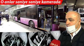 İETT otobüsünü çalıp İstanbul turu attı Film gibi olay: Profesör gibi...