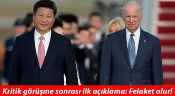 ABD-Çin arasında kritik görüşme... İlk açıklamalar geldi: Felaket olur