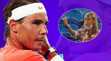 Rafael Nadala el hareketi yapan kadın konuştu Sarhoş değildim, Nadal çok sıkıcı...