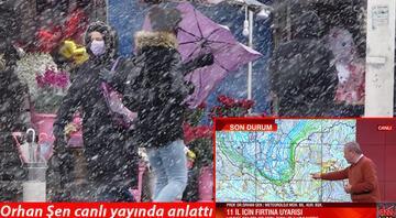Meteoroloji'den son açıklama: 6 gün boyunca sürekli kar yağışı…