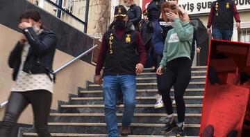 İstanbulda fuhuş operasyonu Mağdurların isimlerini yazmışlar...