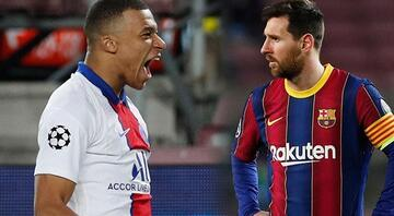 Barcelonada bir devrin sonu mu Herkes Kylian Mbappe konuşurken Lionel Messi...