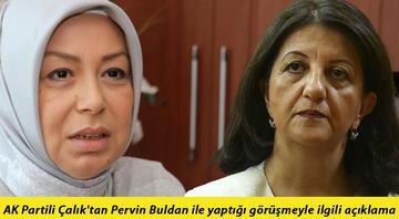 AK Partili Öznur Çalıktan Pervin Buldan ile yaptığı görüşmeyle ilgili açıklama: Bir süre misafir edilir, bırakılır dedi