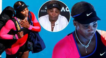 Serena Williams, basın toplantısını ağlayarak terk etti