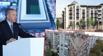 Cumhurbaşkanı Erdoğan'dan, İzmir'de Deprem Konutları Temel Atma Töreni'nde açıklamalar