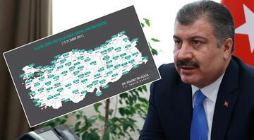 Sağlık Bakanı Fahrettin Koca, il il koronavirüs vaka sayılarını açıkladı
