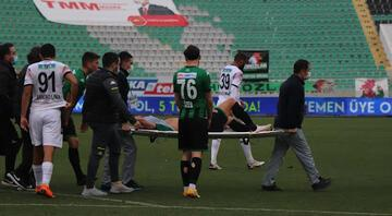 Denizlispor'da Ahmed Yasin şoku 7 ay sahalardan uzak kalacak...