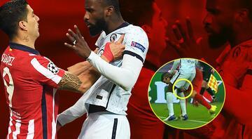 Şampiyonlar Liginde gecenin olayı Luis Suarez ile Antonio Rüdiger...