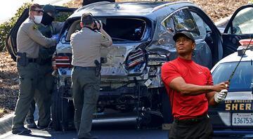 Trafik kazası geçiren Tiger Woods hastaneye kaldırıldı