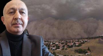 Avrupadan geliyor... Prof. Dr. Torosdan çöl tozu uyarısı