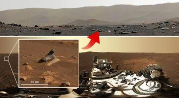 Marstan inanılmaz görüntü Keşif aracı kaydetti…