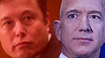 İki dev arasında bir kan davası... Elon Musk Jeff Bezosa karşı