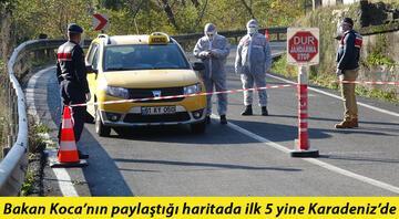 Karadenizde kırmızı alarm 19 yerleşim yeri koronavirüs karantinasında