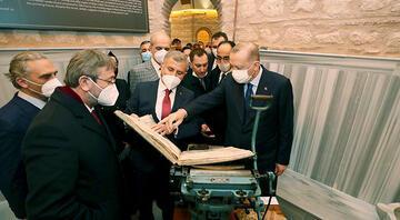 Cumhurbaşkanı Erdoğan, Üsküdarda Nevmekan Selimiyeyi ziyaret etti