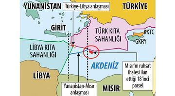 Doğu Akdeniz'de yeni kriz: Atina ile Kahire'nin 18'inci parsel kavgası
