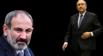 Son dakika: Ermenistan Cumhurbaşkanı Sarkisyandan Paşinyana ret
