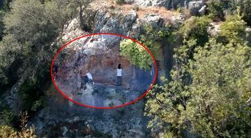 Mersin'de çok önemli keşif 8 bin yıllık kaya resimleri...