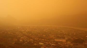 Prof. Dr. Toros'tan 'çöl tozu' açıklaması Dün başladı, bugün devam ediyor…