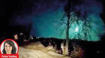 Meteor mu yoksa uzaylılar mı