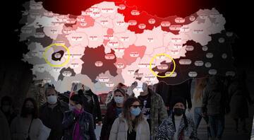 Türkiye normalleşme haritasındaki bu iki ili konuşuyor İşte Uşak ve Adıyamanın sırrı
