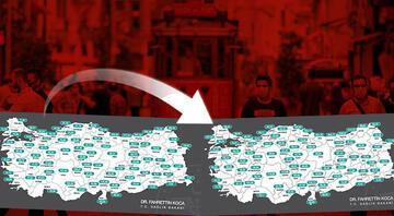 İstanbulun koronavirüs vakalarında korkutan artış Bir haftada dikkat çeken değişim