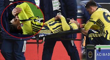 Fenerbahçede Mesut Özil sakatlandı İrfan Can Kahveci ilk kez...
