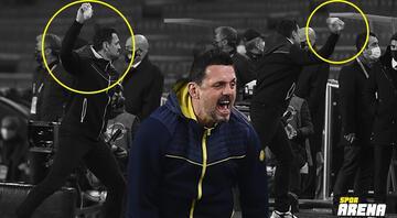 Fenerbahçede Erol Bulut kenarda çılgına döndü Hiç böyle görmediniz...