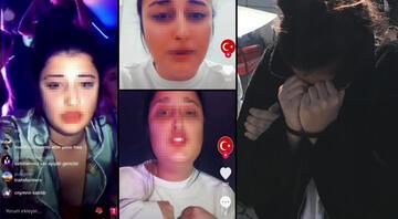 Sosyal medyada tepki yağdı Şehitlere hakaret ettiği öne sürülen genç kız gözaltında