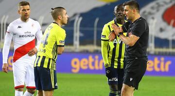 Fenerbahçe-Antalyaspor maçının hakemi Ümit Öztürkün ses kaydı sosyal medyada
