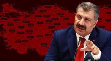 Bakan Koca paylaştı İşte il il koronavirüs haftalık vaka sayıları.. İstanbulda korkutan artış