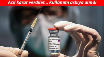 Son dakika haberler: Kovid-19 aşısında flaş gelişme... Avrupa ülkeleri AstraZeneca aşısının kullanımını durdurdu