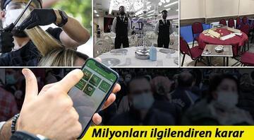 İstanbulda koronavirüs tedbirleri kapsamında yeni karar Birçok yere girişte HES kodu zorunluluğu getirildi
